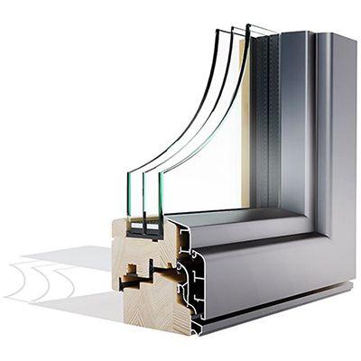 Mega Alulok 110 CLASSIC drvo-aluminjski prozor - Lokve Quality Windows